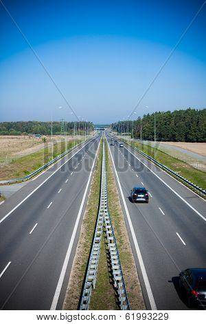 two-lane highway