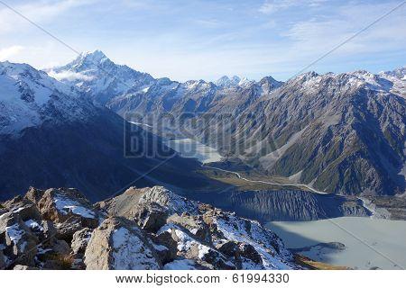 Aoraki glaciers
