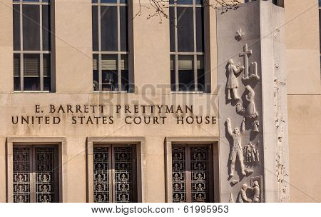 Federal Court Building Pennsylvania Ave Washington Dc