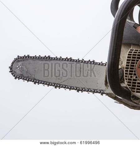 Blade of a chainsaw