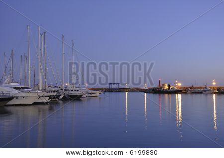 Evening Port.