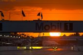 Sebring, FL - Mar 15, 2014:  The Tudor United SportsCar Championship teams take to the track at suns