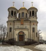 Ascension Cathedral in Zvenigorod, the Moscow region