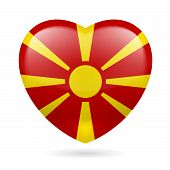 Heart icon of Macedonia