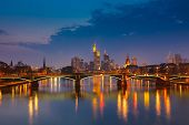 pic of frankfurt am main  - Frankfurt am Main at night - JPG
