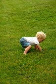 pic of stand up  - baby attempting to stand up