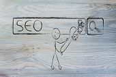 picture of ebusiness  - conceptual design about SEO - JPG