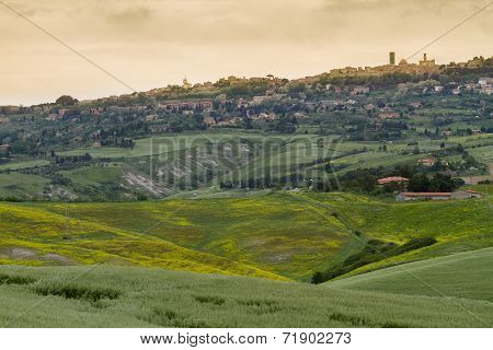 Tuscany landscape around Pienza, Val d'Orcia, Italy
