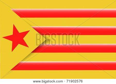 Red Estelada Flag