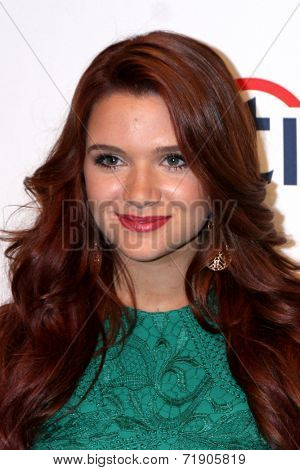 LOS ANGELES - SEP 12:  Katie Stevens at the Mercy For Animals 15th Anniversary Gala  at London Hotel on September 12, 2014 in West Hollywood, CA