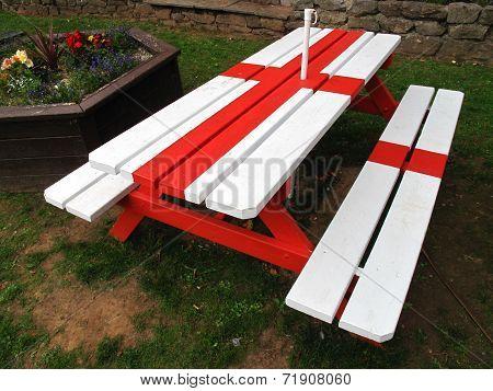Flag Bench