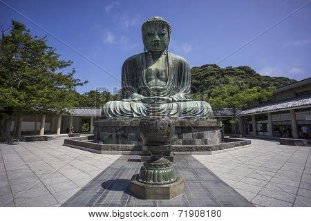Great Buddha Of Kamakura (daibutsu)