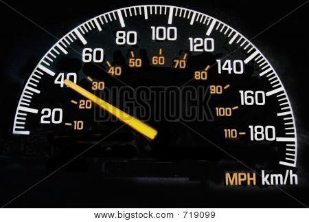 Speedometer 40 Kph