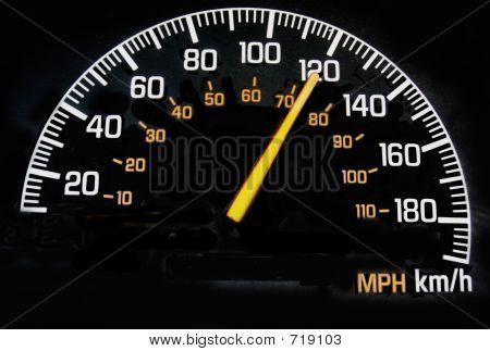 Speedometer 120 Kph