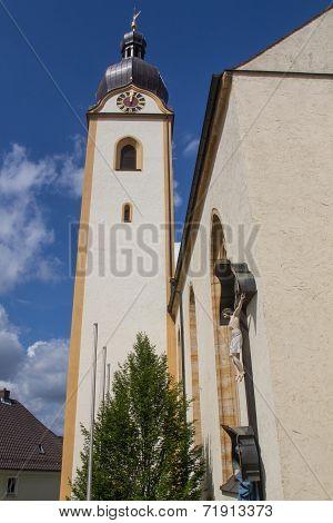 St. Jakobs Church In Schwandorf