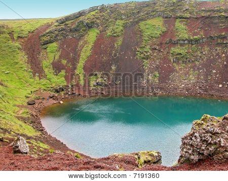 Volcanic Crater Lake Kerid