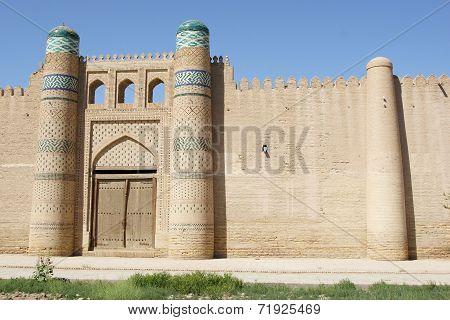Fortress, Khiva, Uzbekistan