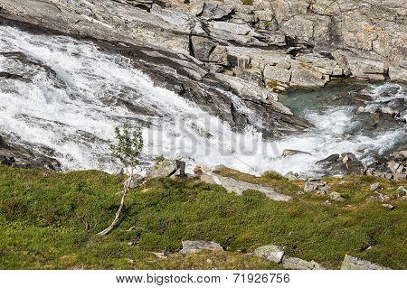 A River On The Trollstigen