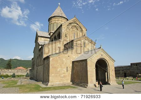 Church Sveti Zchoweli, Mzcheta, Georgia