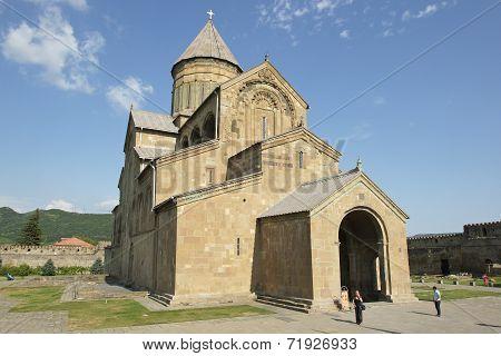 Church Sveti Zchoweli, Mzcheta, Georgia