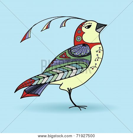 Bird in color