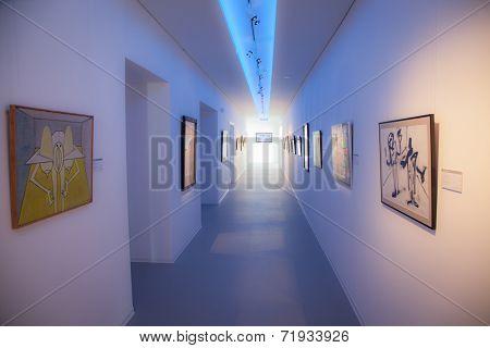 Interior Of Museum Danubiana, Bratislava - Slovakia