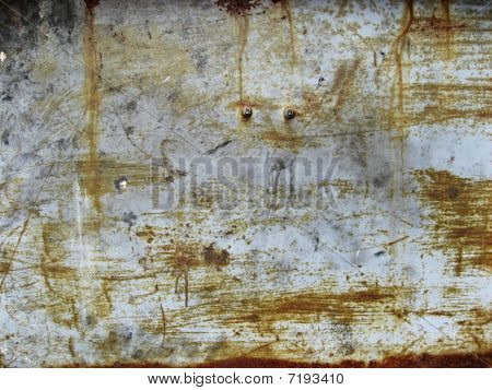 Scratched Metal Panel