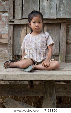 Portrait asian girl