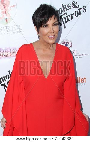 LOS ANGELES - SEP 13:  Kris Jenner at the 2014 Brent Shapiro Foundation Summer Spectacular at Private Residence on September 13, 2014 in Beverly Hills, CA