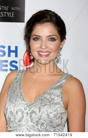 LOS ANGELES - SEP 13:  Jen Lilley at the 5th Annual Face Forward Gala at Biltmore Hotel on September 13, 2014 in Los Angeles, CA