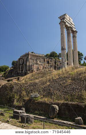 Ancient Roman Ruin