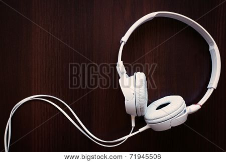 Set Of Modern Stereo Headphones