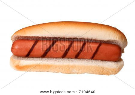 Plain Hot Dog