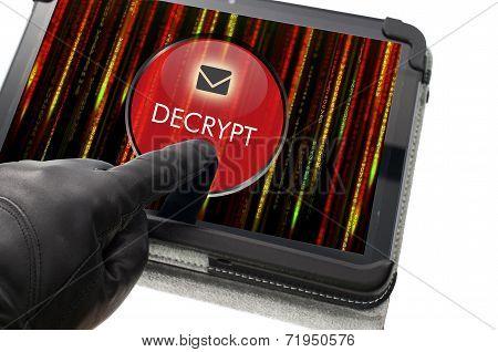 Decrypting E-mail Concept