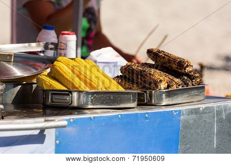 Fried And Boiled Corn