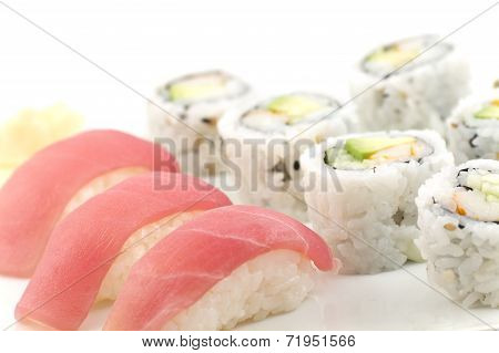 Tuna Sushi California Roll
