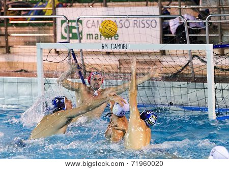 Genova, January 25:  E.prian   ( Goalie Bpm Sport Management )  In Game Bpm Sport Management -rn Cam