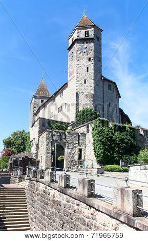 Rapperswil castle on lake Zurich