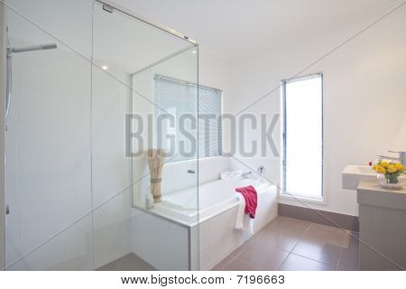 Bathroom In Modern Townhouse