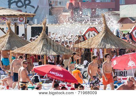 Beach Foam Party