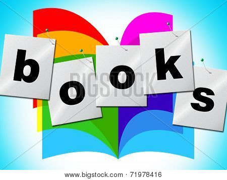 Education Books Indicates Textbook Fiction And Tutoring