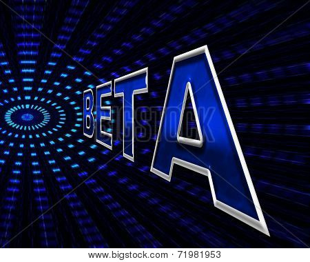 Beta Software Indicates Programming Softwares And Download