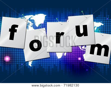 Forum Forums Means Social Media And Communication