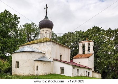 Church New Ascension In Pskov