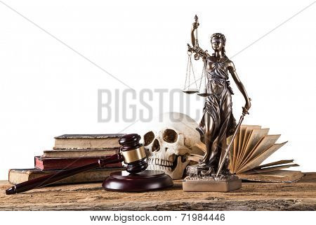 Themis in spotlight - concept of justice