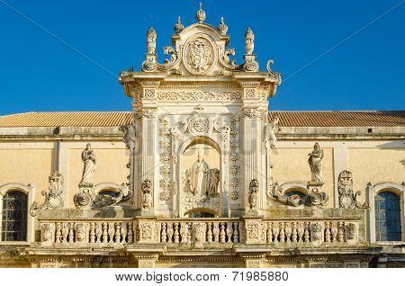 Lecce Cathedral, St. Oronzo Statue