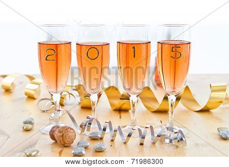 Champagne For New Year's