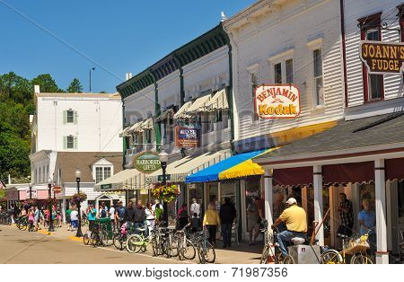 Mackinac Main Street