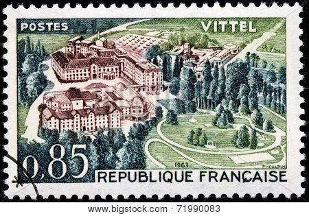 Vittel Stamp
