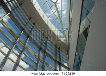 Looking through the skylight